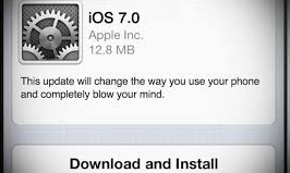 Blow your mind, install iOS 7