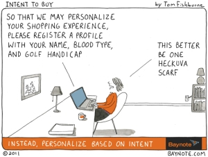 Personalization gone mad